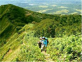 富良野嶽山登山